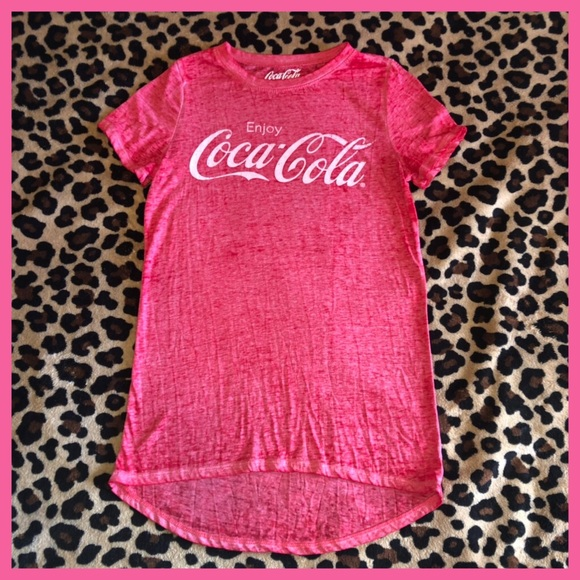 1f342dae Coca Cola Tops | Cocacola Vintage Shirt From Target Size Xs | Poshmark